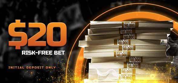 mybookie risk free bet