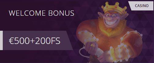malina casino welcome bonus