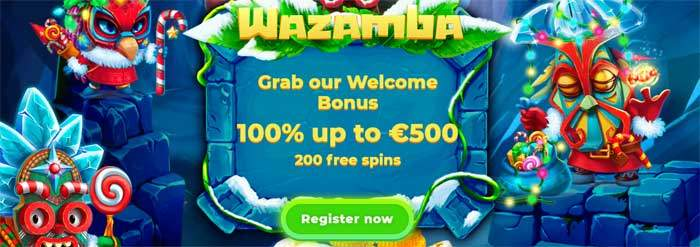 wazamba casino welcome bonus