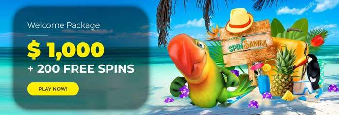 spin samba bonus