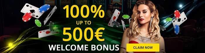 1bet casino welcome bonus