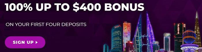 jackpot city welcome bonus
